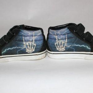 Toddler Vans Skeleton hand Skate shoes